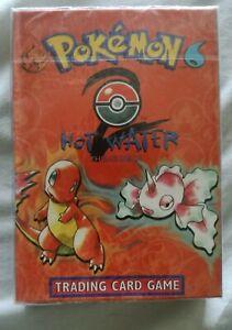 Pokemon Base Set 2 HOT WATER THEME DECK, 2000, NEW & SEALED, WOTC DECK