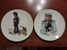 Norman Rockwell Lot Of 12 Limited Edition 1978 Plates- Gorham China