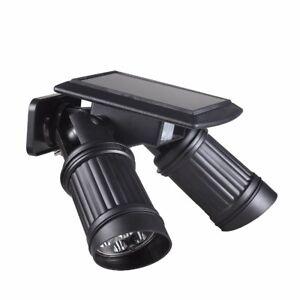 14LED Solar Light PIR Motion Sensor Dual Head Adjustable LED Wall Lights