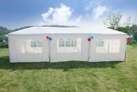 10x30 Outdoor Party Tent Wedding Canopy Patio Gazebo Heavy Duty Event W/ 8 sides