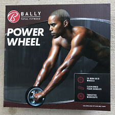 BALLY Total Fitness Power Ab Ruota Tono rafforza modella Athletic