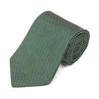 BROOKS BROTHER Woven Diagonal Micro Cube Green Men's Silk Neck Tie