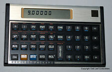Programmable HP Financial Calculator with case.