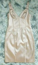 Guess by Marciano Women's Sz Small S Silk Dress Pink Ice Party Cocktail NWT $158