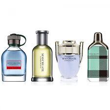 4Pcs/Set Perfume Mini Bottle Portable For Men Male Brand Long Lasting Fragrance