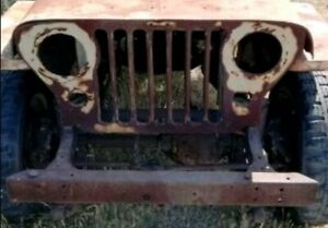 Jeep willys Griglia Originale E Paraurti