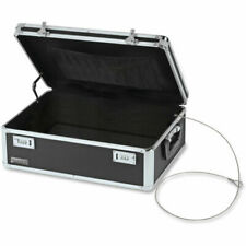 Vaultz Lockable Storage Trunk - Black