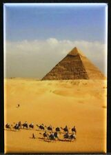 "The Great Pyramid 2"" X 3"" Fridge Magnet. Ancient Egypt Cairo Giza"