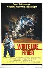 Fièvre de la ligne blanche Poster 02 boîte Toile imprimer A3