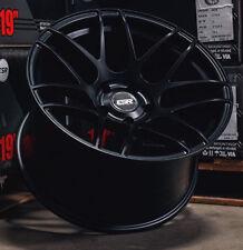 "18"" ESR RF1 Wheels 18x9.5 18x10.5 +22 5x114.3 Black Rotary Forged Rims For 350Z"