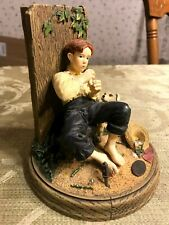 Norman Rockwell's Best Friends 1992 Daydreamers Boy with Dog Figurine 82443