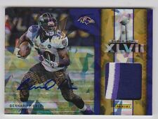 2013 Panini Black Friday Super Bowl Materials Autographs #8 Bernard Pierce*/10