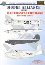 Model Alliance 48210 1:48 RAF Coastal Command Post War Pt 1 - SPECIAL OFFER!