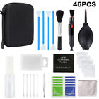 46PCS Cameras Lens Cleaning Kits Professional Cleaner for Canon Nikon Sony DSLR