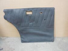 1961 - 1968 Mercedes W110 W111 Left Driver Rear Door Panel Trim Interior Blue
