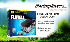 Fluval Q1 - Air Pump, Dual Air Outlet, Ultra Quiet, Powerful and Reliable