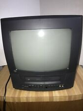 Ge General Electric 13� Color Vcr Tv Combo 13Tvr62 With Remote Tested