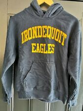 "Vintage Navy Hooded ""Eagles""  Sweatshirt Size Small"