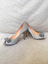 Pour La Victoire Laela Gray Satin, Women's Shoes, Size 9.5M