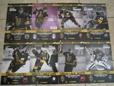 VEGAS GOLDEN KNIGHTS LOT OF 8 PROGRAMS POSTERS NHL HOCKEY INAUGURAL LEAFS KINGS