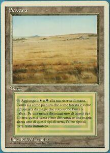 Savannah (WB) Revised (ITALIAN) HEAVILY PLD Land Rare CARD (204558) ABUGames