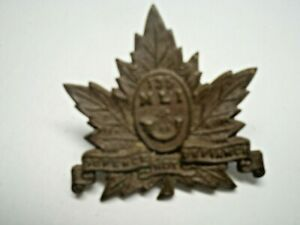 CANADIAN 1920-1952 PERIOD WWII MIDDLESEX LIGHT INFANTRY CAP BADGE