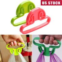 Easy Portable shopping Bag Easy Grip Grocery Bag Holder Handle Grip Lock Home US