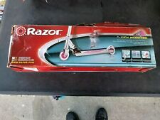 Razor Authentic A Kick Scooter, New In Box, Pink - Adjustable & Folds