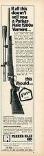 1971 Print Ad of Jana Parker Hale Model 1200V Varmint Rifle