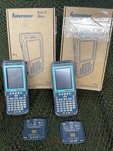2 UNITS!  Intermec CN3NI Handheld Computer Barcode Scanner CN3FWH80000Z4G6