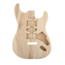 Polished Sycamore Guitar Unfinished Body Barrel for ST Electric Guitar Parts