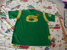 FUBU 1992 Official Collection Throwback green Throw Back sewn Jersey T Shirt XL