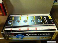 10 x OLYMPIA 3V Knopfzellen CR1225 / CR-1225 / CR 1225 Knopfzelle, Zelle, NEU