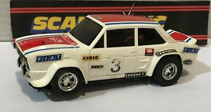 FN Scalextric 093213 Fiat 131 Abarth #3 Rally Excellent Etat Boite Ouverte