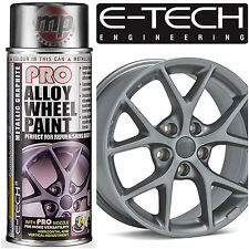 E-Tech PRO Alloy Wheel Refurbish & Refresh Spray Paint - Metallic Graphite Grey