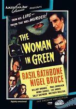 Sherlock Holmes: Woman in Green (Basil Rathbone) - Region Free DVD - Sealed