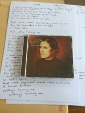 Alison Moyet - Other - CD And Signed A4 Lyric Print -  NEW - yazoo