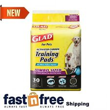 Glad for Pets Jumbo Size Black Charcoal Puppy Pee Pee Pads Potty Training 30 ct.