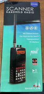 Whistler WS1010WA Analog Handheld Radio Scanner