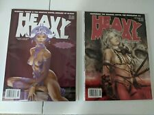 HEAVY METAL Magazines LOT OF 20 from 2003 - 2007 Fantasy. Very Good