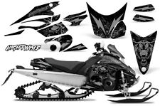 Yamaha FX Nytro Decal Graphic Kit Sled Snowmobile Wrap Decals 08-14 NIGHTWOLF S
