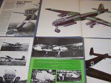 VINTAGE..HEINKEL HE 177..HISTORY/PHOTOS/DETAILS/PROFILES..RARE! (124H)