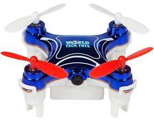 World Tech Toys Nemo Spy Drone 2.4Ghz Video/Picture Camera 4.5 Ch (BLUE)