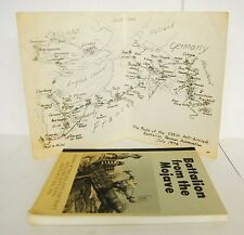 BATTALION FROM THE MOJAVE: History of the 535 AA Artillary Battalion w/ MAPS WW2