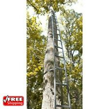 Deer Hunting 20Ft Ladder For Tree Stand Climbing Sniper Rifle Bow Safety Harness