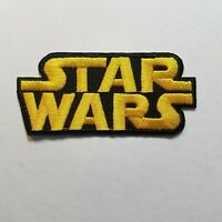 Star Wars Classic Yellow Logo Patch 3 1/2 inch patch cosplay