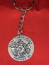 St Christopher Keyring, Safe journey, protection keepsake gift talisman