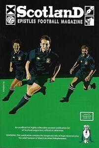 SCOTLAND EPISTLES FOOTBALL MAGAZINE #12 - TARTAN ARMY FANZINE / MAGAZINE