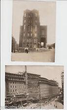 2 original vintage-fotos de John Graudenz: Berliner edificios nuevos, para 1926
