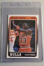 Michael Jordan 1987-88 Fleer #17